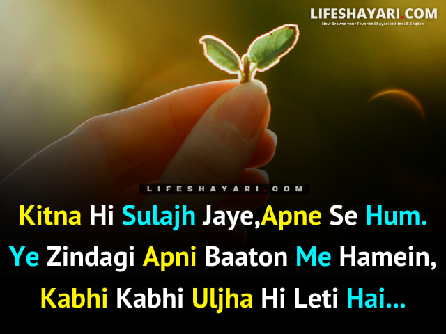 Life Shayari In English Hindi (1)